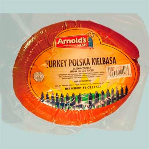 Arnold's Turkey Polska Kielbasa 1 Lb