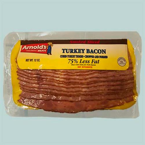 Arnold's Smoked Sliced Turkey Bacon 12oz