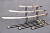 katana, wakizashi, tanto, samurai, sword, set, daisho, snake, cobra, ornimental, display, gift, swords,