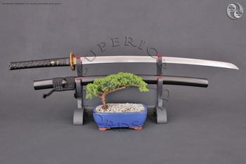Swords & Knives Online - Hand forged Katana - Damascus Steel