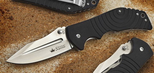 performance, high, quality, pocket, knife, folder, edc, kizlyar, russian, made, 440C, steel,