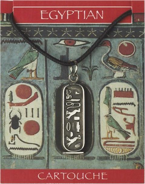Egyptian, Cleopatra, Cartouche, trinket, Jewelry, jewellery, pendant, pewter,