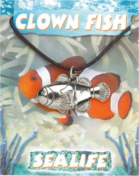 clown, fish, pendant, trinket, Jewelry, jewellery, pendant, pewter,