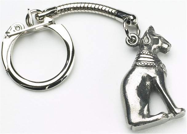 Egyptian Cat Key-Ring