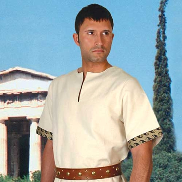 greek, tunic, windlass, steelcrafts, clothing, historical, wares, fancy, dress, costume,