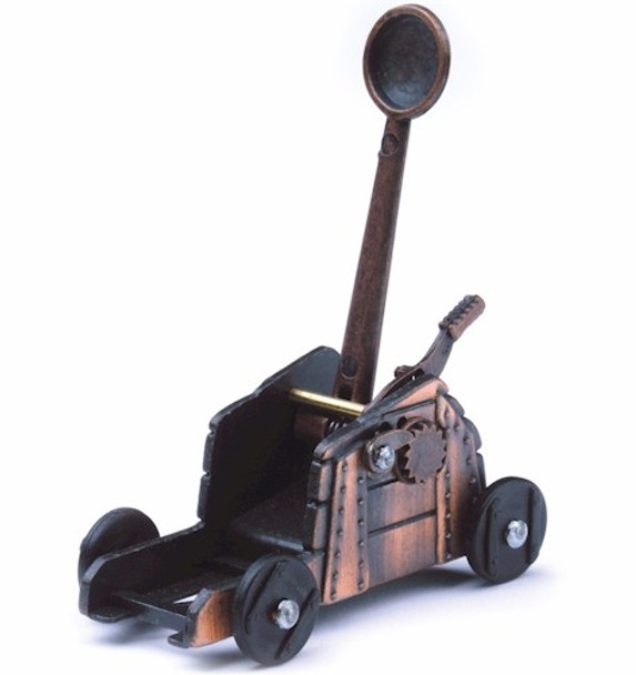 medieval, catapult, pencil, sharpener