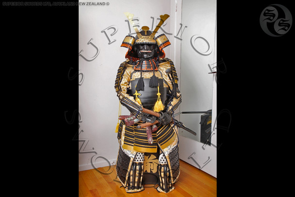 Samurai Armour - Black/ Gold - Yoroi