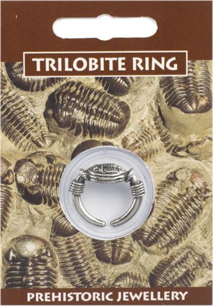 Trilobite, dinosaur, prehistoric, trinket, Jewelry, jewellery, ring, pewter,