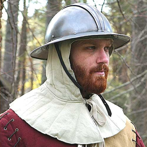 under-armour, medieval, windlass, steelcrafts, coif, armour, head, protection