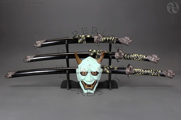 tachi, katana, samurai, sword, set, daisho,