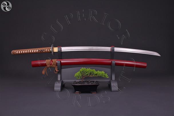 Crimson, Tiger, katana, samurai, sword, Wakizashi, tanto, japan, japanese