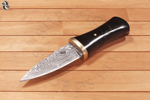 Madra, Dubh, Sgian, Boot, Knife, Damascus, Scottish, Scotland,