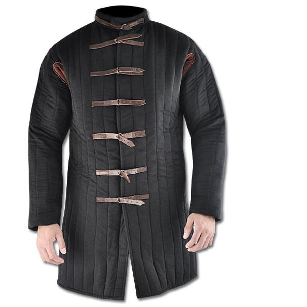 Gambeson, Black, Buckle Closure