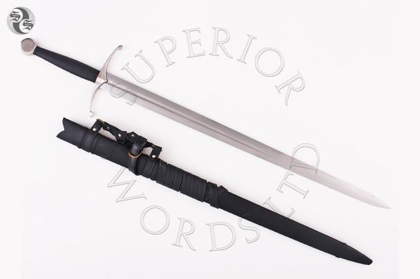 knight, medieval, longsword, long, sword, hand, and, a, half, handandahalf, bastard, handmade, handforged, 1075, spring, steel,