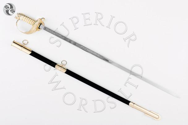 1827, sword, pattern, navy, military, officer,
