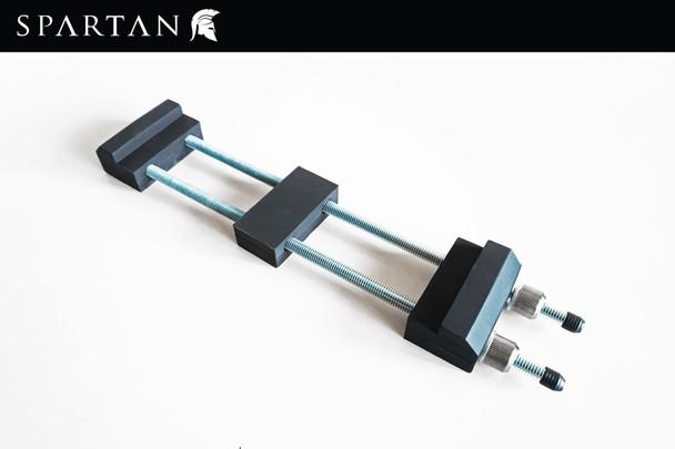 Adjustable, Sharpening, Stone, Holder, SPARTAN, whet, stone, whetstone, wet-stone, waterstone, water-stone, water, base, sliding, clamp, bracket