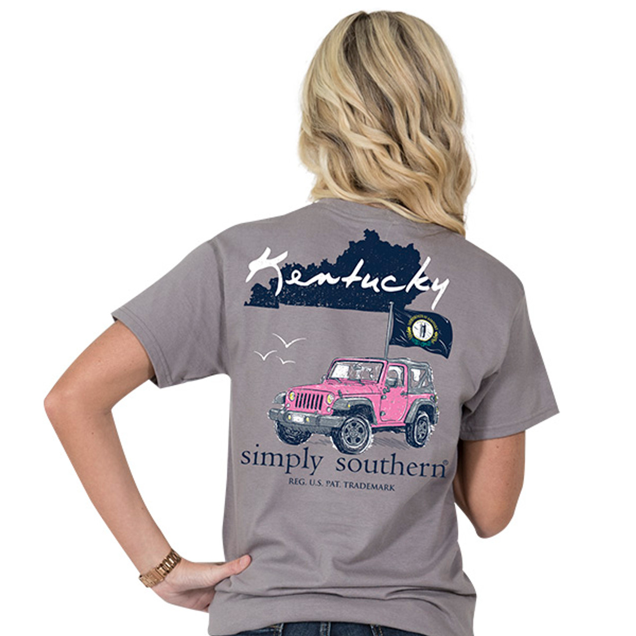 2bf82697d Simply Southern SS Tee - Kentucky - Cordial Lee