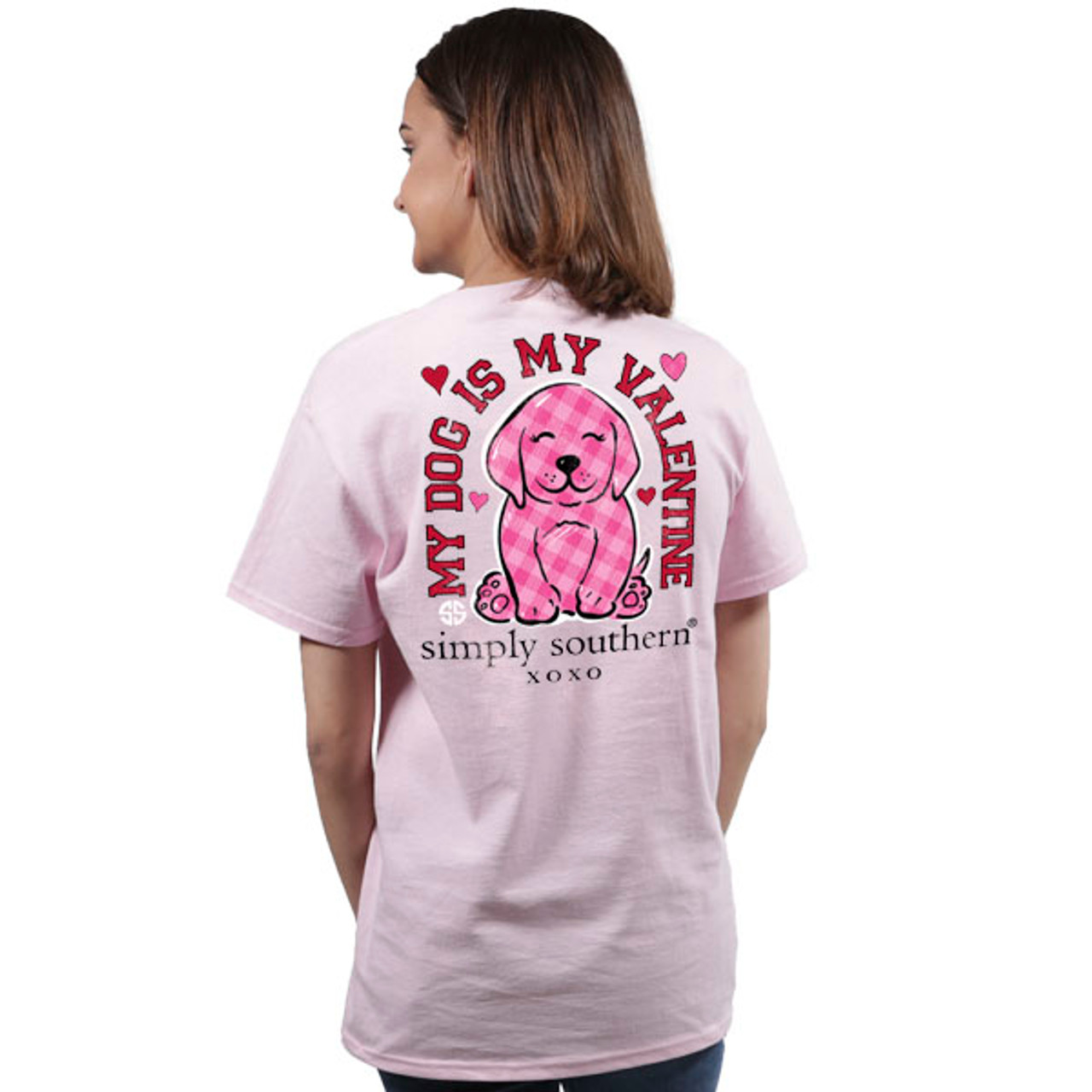 67095ece1ca Simply Southern SS Tee - Preppy Valentine - Cordial Lee