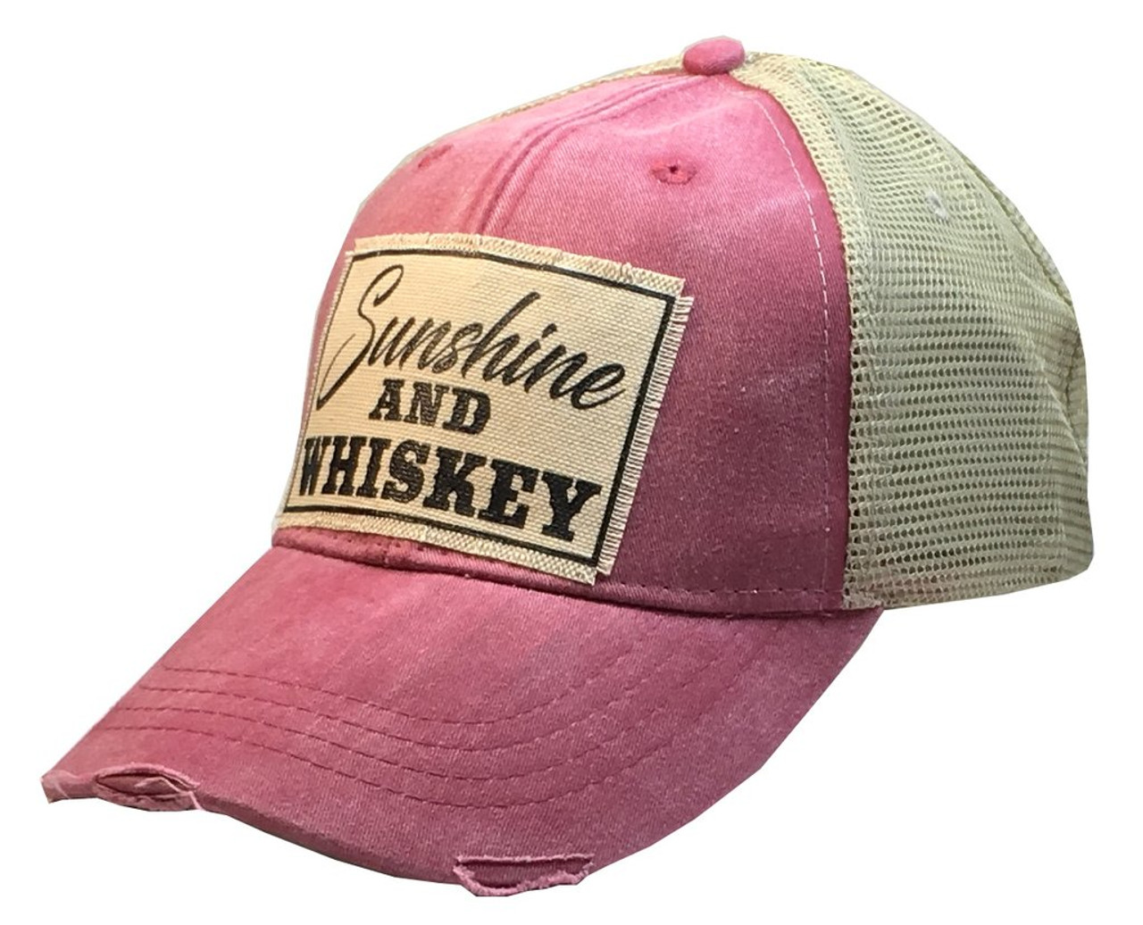 fa7608d2 Vintage Trucker Cap - Sunshine & Whiskey - Cordial Lee