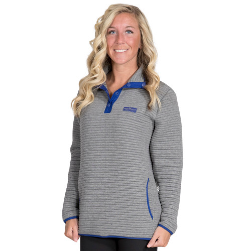 Simply Southern Ribbed Pullover - Smoke