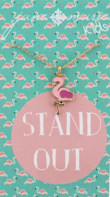 Flamingo Necklace - Youth