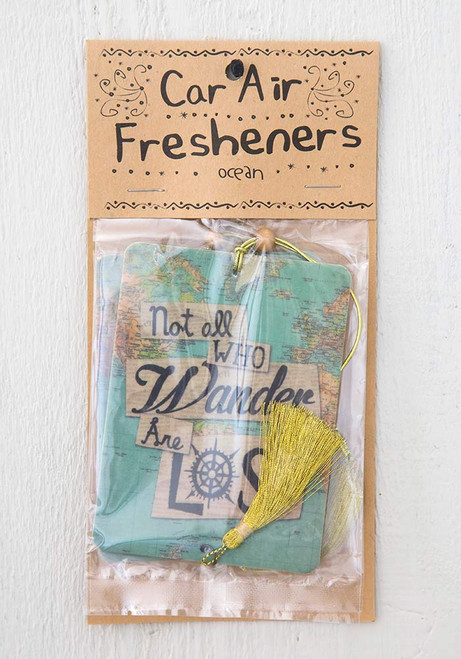 Not All Who Wander Air Freshener