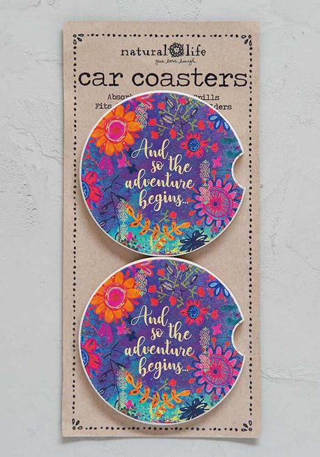 Car Coaster Set - Adventure Begins