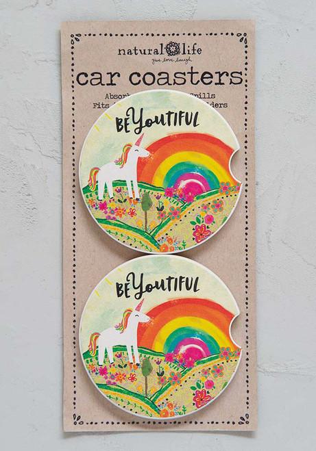 Car Coaster Set - BeYOUtiful