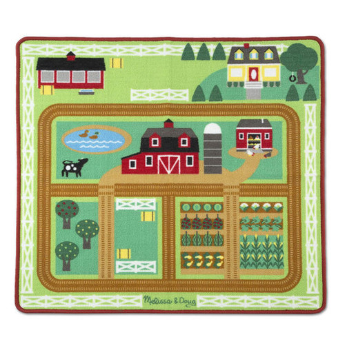 Round the Barnyard Farm Rug Set
