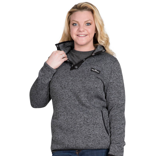Simply Southern Knit Pullover - Steel