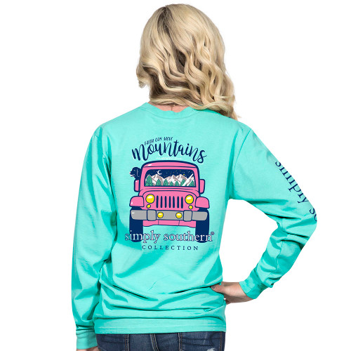 Simply Southern LS Tee - Mountain