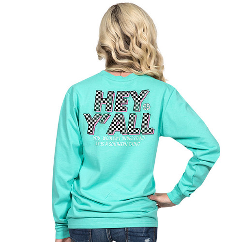 Simply Southern LS Tee - Hey Y'all