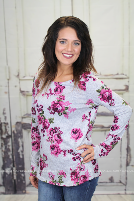 Alanna Floral Sweater Top