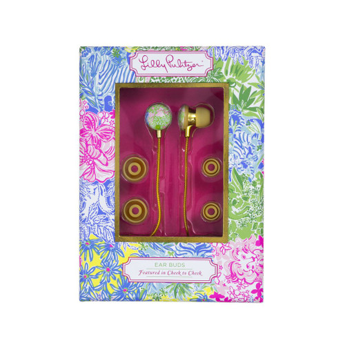 Lilly Pulitzer Earbuds - Cheek to Cheek
