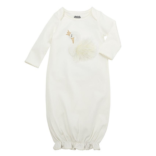 Swan Layette Gown