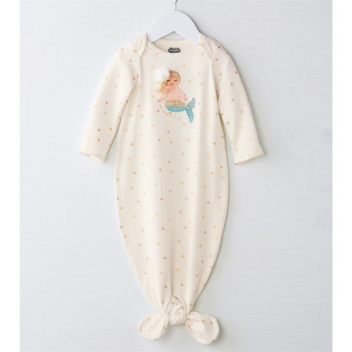 Mermaid Applique Sleep Gown