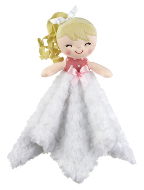 Baby Doll Mini Blankie - White