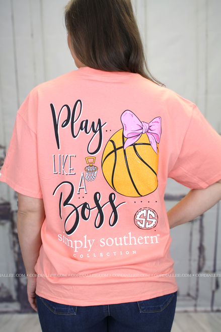 Simply Southern SS Tee - Basketball