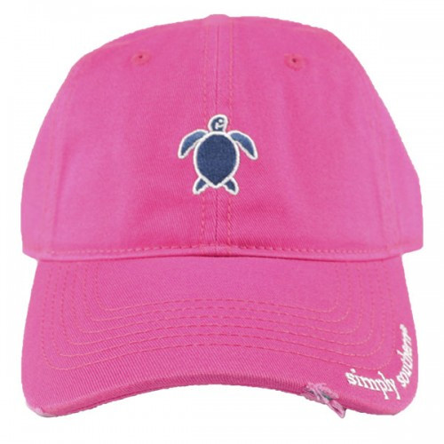 7ffdf91f3 Simply Southern Ballcap - Turtle Pink - Cordial Lee
