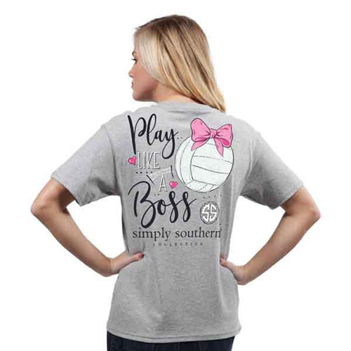 Simply Southern SS Tee - Volleyball