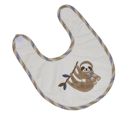 Speedy the Sloth Baby Bib