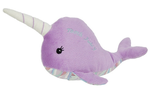 Nina the Narwhal Plush Tooth Fairy