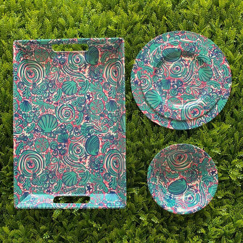 Simply Southern Dinnerware - Swirly