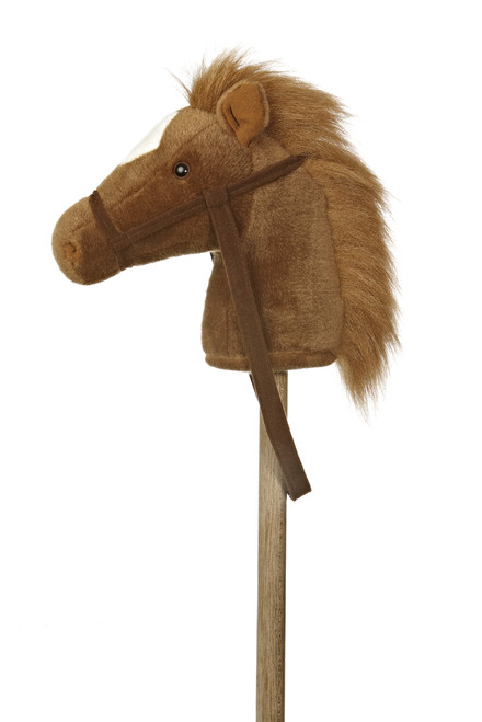 Giddy Up Stick Pony - Brown