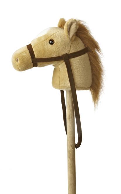 Giddy Up Stick Pony - Beige
