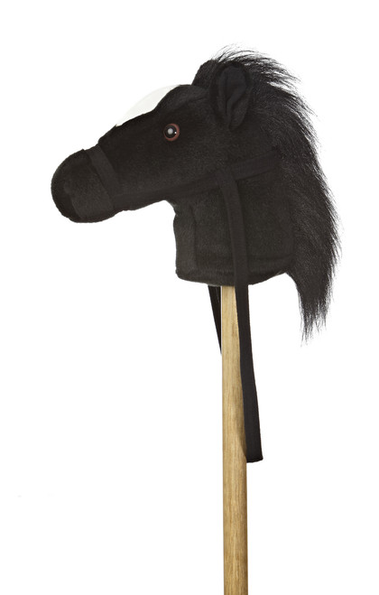 Giddy Up Stick Pony - Black