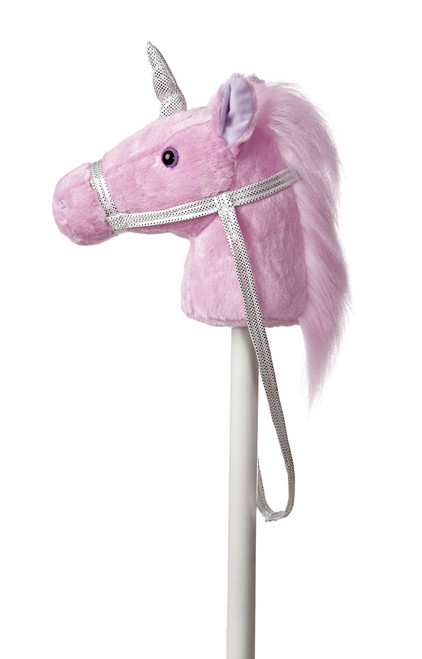 Fantasy Stick Pony - Unicorn