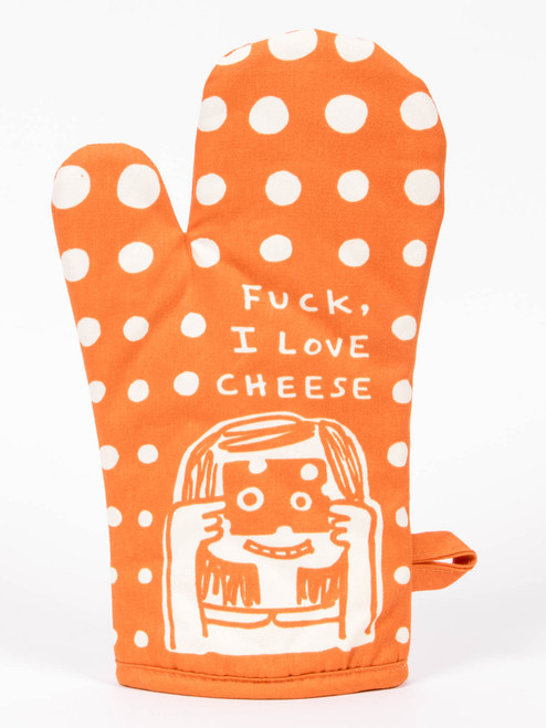 I Love Cheese Oven Mitt