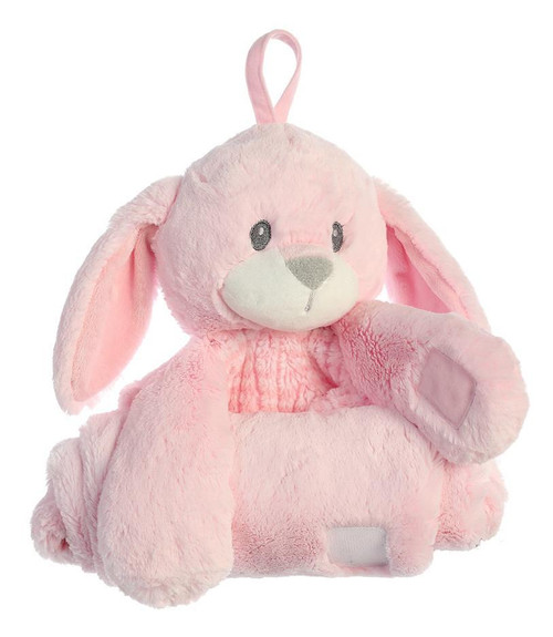 """28"""" Napping Pal - Little Pitter Pattern Bunny"""