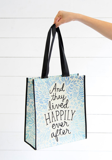 Extra Large Recycled Gift Bag - Happily Ever After